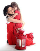 Mother and the daughter are happy — Stock Photo