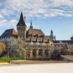 Vajdahunyad Castle, Budapest, Hungary — Stock Photo #10861037