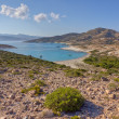 Ano Myrsini bay, Polyaigos island, Cyclades, Greece — Stock Photo