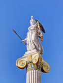 Statue of goddess Athena, Athens, Greece — Stock Photo