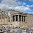 Erechtheum temple, Acropolis, Athens, Greece — Стоковая фотография