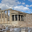 Erechtheum temple, Acropolis, Athens, Greece — Stock Photo