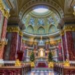 Saint Stephen basilica interior, Budapest — Stock Photo