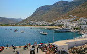 Kamares port, Sifnos island, Cyclades, Greece — Stock Photo