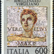 ITALY - CIRCA 1981: A stamp printed in Italy shows Roman poet Publius Vergilius Maro (Virgil), circa 1981. — Stock Photo #11143444