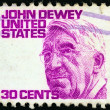 "USA - CIRCA 1965: A stamp printed in USA from the ""Prominent Americans (1st series)"" issue shows philosopher John Dewey, circa 1965. — Stock Photo"