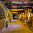 Stock Photo: Old wine cellar