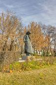 Statue of Mother, Karditsa, Greece — Stock Photo