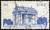 "IRELAND - CIRCA 1983: A stamp printed in Ireland from the ""Irish Architecture"" issue shows Casino at Marino, circa 1983. — Foto Stock"