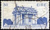 "IRELAND - CIRCA 1983: A stamp printed in Ireland from the ""Irish Architecture"" issue shows Casino at Marino, circa 1983. — ストック写真"