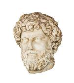 Roman head of Aelius Verus (Lucius Aelius Caesar) isolated — Stock Photo