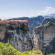Panoramic view of Varlaam monastery, Meteora, Greece — Stock Photo