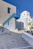Panagia Korfiatissa church, Milos island, Cyclades, Greece — Stock Photo