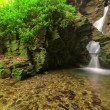St Nectans Glen, Tintagel, Cornwall - Stock Photo