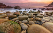 Porth Nanven - Cot Valley West Cornwall at sunset — 图库照片