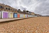 Marine Parade Beach Huts, Lyme Regis — Stock Photo