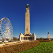 图库照片: Plymouth Hoe, War Monument