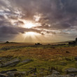 Stock Photo: Sunset at Staple Tor