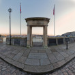 Mayflower Steps Arch, Plymouth, UK — Stock Photo