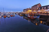 Plymouth Barbican — Stock Photo