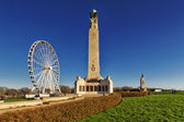 Plymouth Hoe, War Monument — Stock Photo