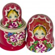 Matryoshka ,nested doll, Russia — Stock Photo