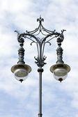 灯,branderburger tor,pariser 广场 — 图库照片
