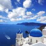 Famous Santorini island in Greece — Stock Photo #10746848