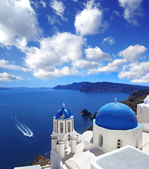 Famous Santorini island in Greece — Stock Photo