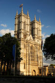 London, Westminster Abbey cathedral in England — Stock Photo