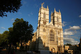 London, Westminster Abbey cathedral in England — Foto de Stock