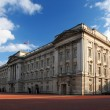 Landscape view of Buckingham Palace in London, UK - Стоковая фотография