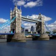 Famous Tower Bridge in London, UK - Foto de Stock