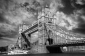 Famous Tower Bridge in London, UK — Stock Photo
