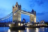 著名的伦敦塔桥,伦敦英国 — 图库照片