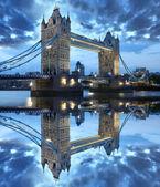 Ponte della famosa torre, Londra, Regno Unito — Foto Stock