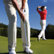 Man playing golf — Stock Photo #11086405