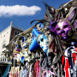 Famous Venice Carnival masks in Venice, Italy  — Stock Photo