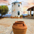 Traditional Wind Mill in Greece — Stock Photo #11265091