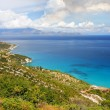 Azure coast of Greece, Zakynthos Island - Stock Photo