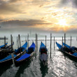 Gondolas in Italy — Stock Photo