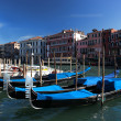 Venice with Gondolas in Italy — Stock Photo