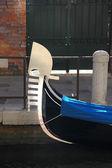 Detail of Gondola in Venice — Stock Photo