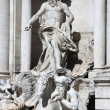 Rome with Fontana di Trevi in Italy — Foto de Stock