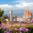 Florence in spring time, Tuscany, Italy — Stock Photo