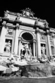 Rome with Fontana di Trevi in Italy — Stock Photo