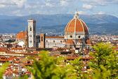 Florens katedral, toscana, italien — Stockfoto