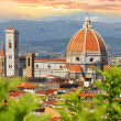 Florence cathedral in Tuscany, Italy - Stok fotoraf