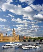 Famous Big Ben in London, UK — Stock Photo