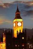 Famous Big Ben in London, UK — Stock Photo